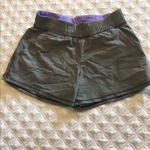 TWO PAIRS OF IVIVVA ATHLETIC SHORTS